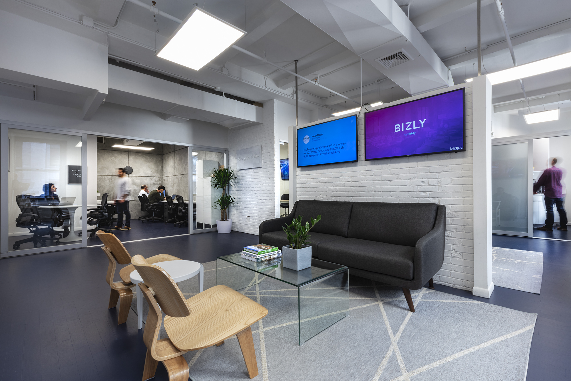 Co-working space a showroom for latest real estate technology