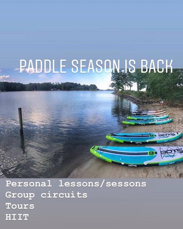 Paddle Season is back! ☀️🏝 Morgan can't wait to take you out for paddle fitness lessons or tours! Call 410-382-8904 with questions or to book!