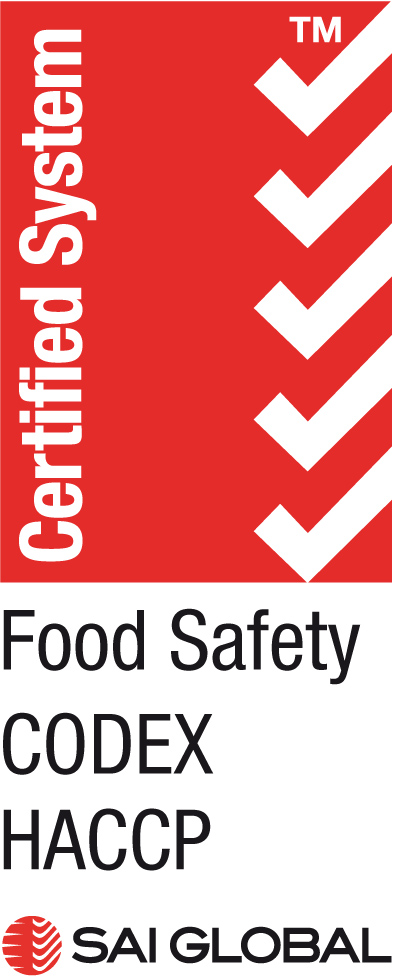 Food Safety Certified by SAI Global
