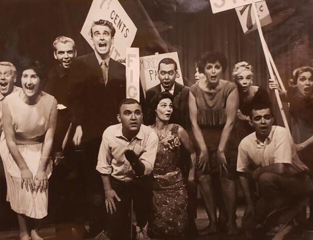 The pajama game , 1961