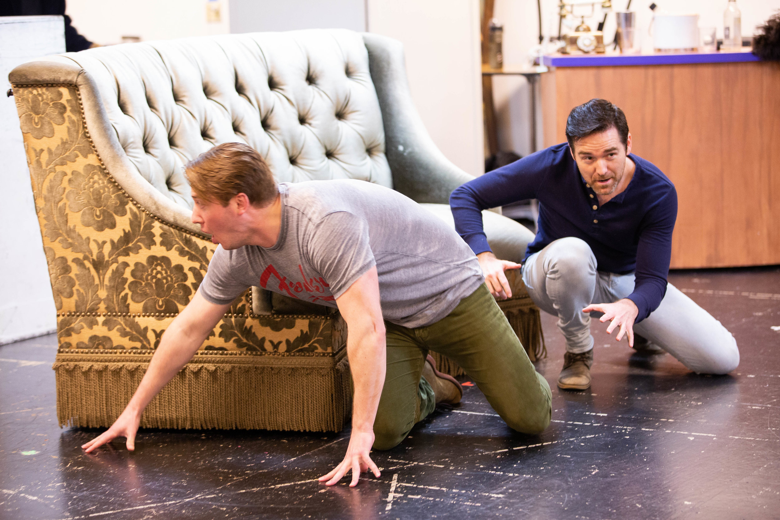 Victor/Victoria in Rehearsal