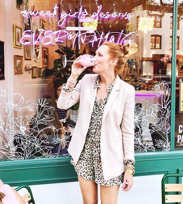 It may officially be fall but the weather says Frosé. Cool down with us at Shuga Girl 💞 . . . #Shugagirlsweethouse #shugagirl #sweetgirlsdeserveeverything #coffeeshop #sweetshop #downtownsavannah #historicsavannah #barnardstreet #savannahgeorgia #visitsavannah #cafe #onlythebest #sweettooth #happyplace #getyourshugaon #sugarrush #sugarhigh