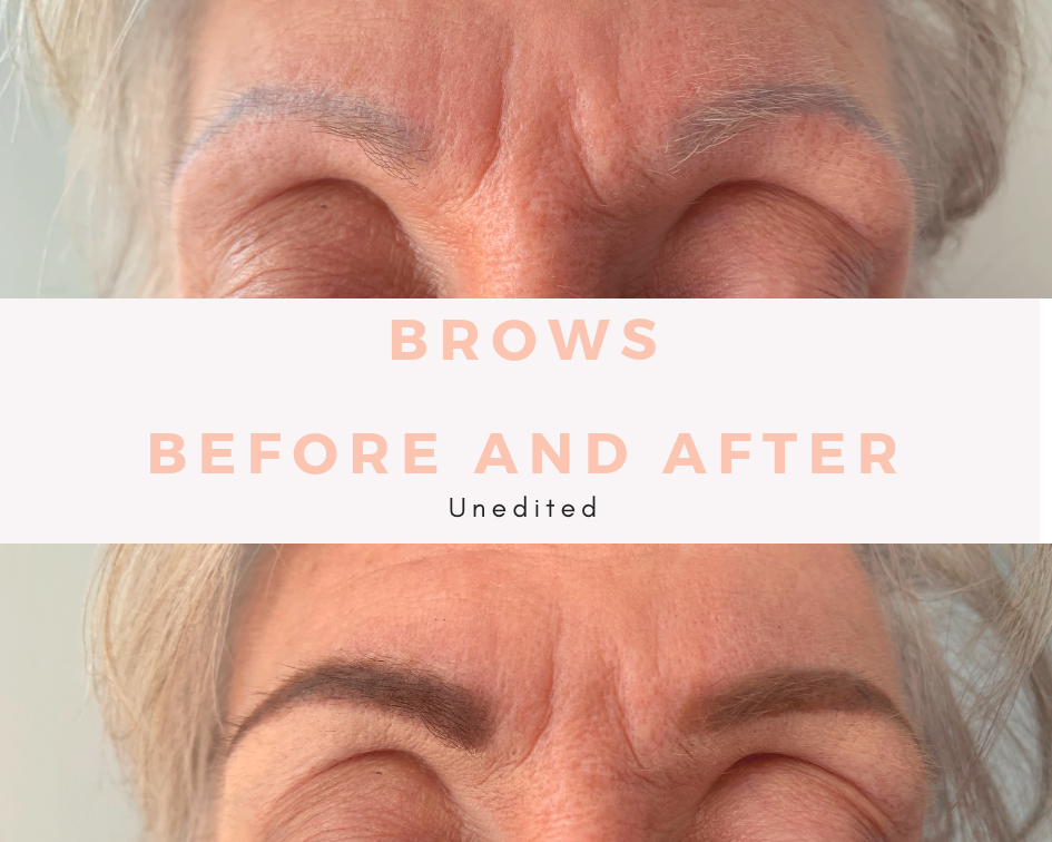 Peg received The 101, where we focused on her brows so she can recreate a more defined look for everyday.