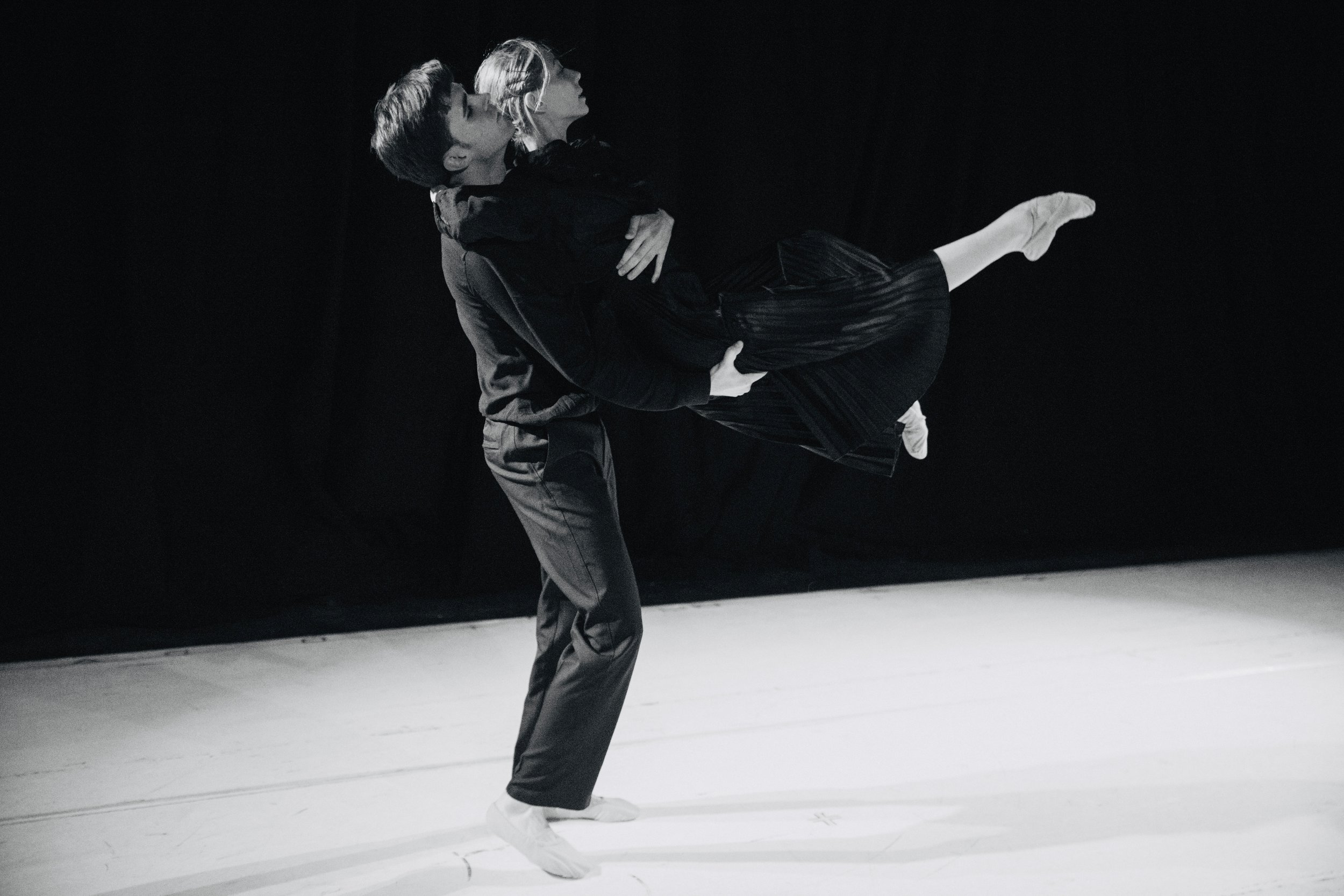 Tangible:[perceptible by touch] - We utilize the physicality of dance to communicate ideas and concepts.