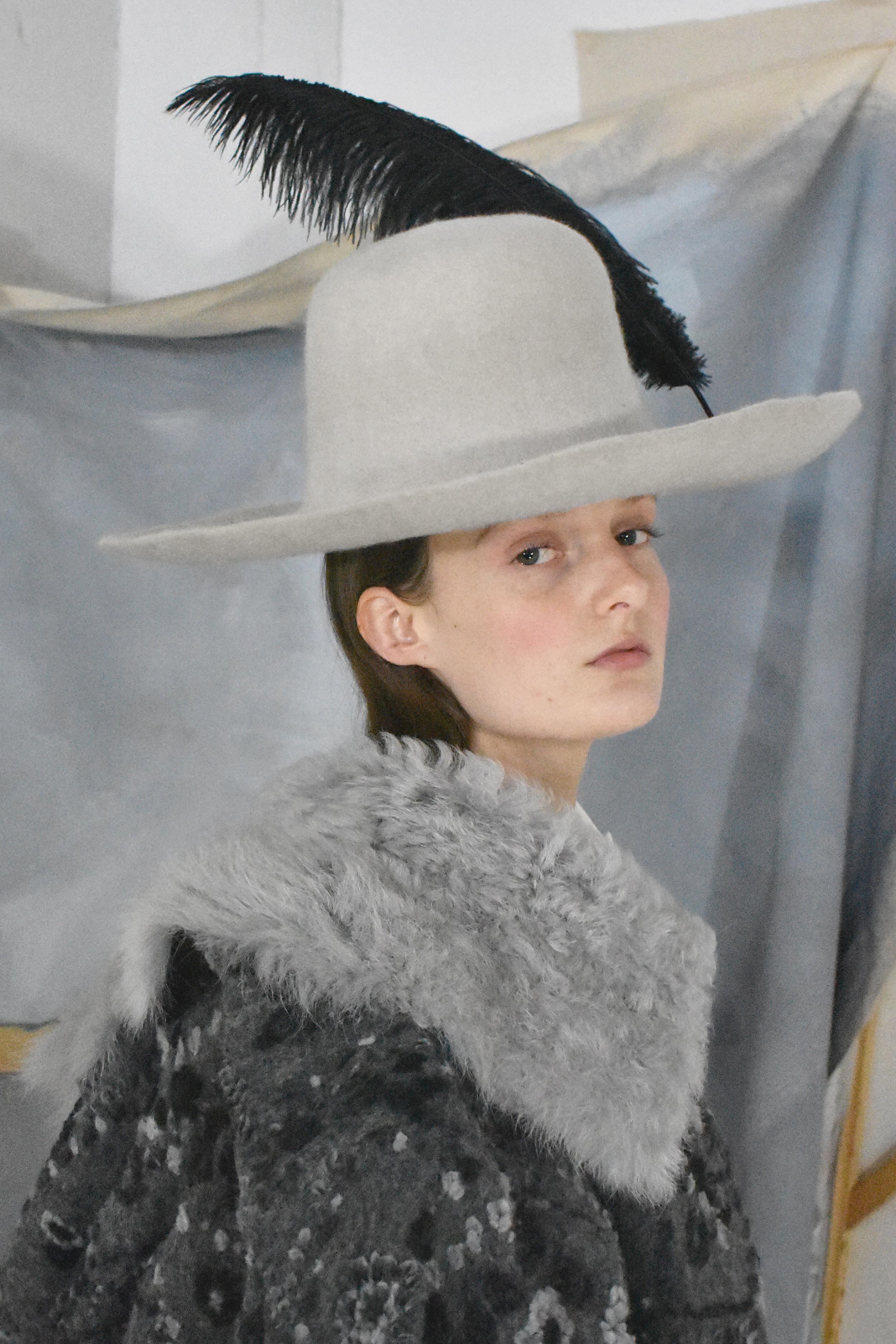 Rabbit Felt hat with Feather.jpg
