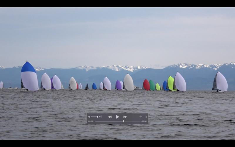 Video highlights of the first three days at the Melges 24 Worlds in Victoria, Canada. - Video filmed and edited by Zerogradinord.