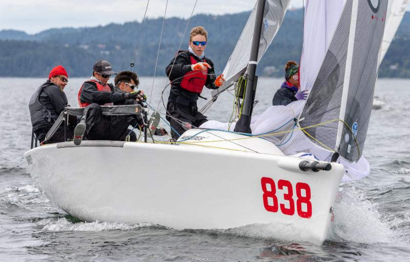 The first victory of the series today went to the home-players Canadians on board of MiKEY CAN838 by Richard Clarke. - Photo (c)IM24CA/Zerogradinord