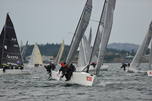 MiKEY USA838 by Richard Clarke - race winner on Day 2 at the Melges 24 Canadian Nationals - photo copyright ©Thomas Hawker