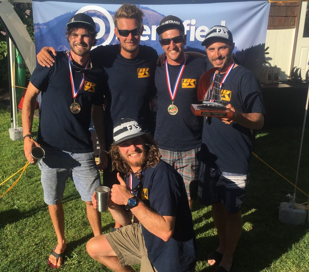 First Place Corinthian - CAN151 Sunnyvale    Top-five Overall ( Helm, Jib, Spin, Tactics, Bow) 1. USA835 Mikey- Jason Rhodes, Ian Sloan, Kevin Welch, Ross McDonald, Serena Vilage  2. USA825 Warcanoe– Michael Goldfarb, Mortan H, Mark Strube, David Brink  3. CAN151* Sunnyvale- Fraser McMilan, Harry Miller, Adam Koster, Keegan Moynihan, Kieran Horsburgh  4. USA303* Average White Boat– Kent Pierce, Sarah Schaueter, John Bell, Rebecca Anderson, John Bell  5. CAN222 Light Scout– Kirk Palmer, Evan Cary, Jeff Eckard, Dave Richardson, Karen Palmer   Top-five Corinthian*  (Helm, Jib, Spin, Tactics, Bow)  1. CAN151* Sunnyvale- Fraser McMilan, Harry Miller, Adam Koster, Keegan Moynihan, Kieran Horsburgh  2. USA303* Average White Boat- Kent Pierce,Sarah Schaueter ,Eric Stoke,John Bell, Rebecca Anderson  3. CAN371* Lekker- Gord Galbraith, Malcolm Smith, Tim Stamper, Tom Insley  4. CAN591* Usain Boat- Mike Bond, Sophie Stukas, Gord Shannon, Mike Bassett  5. USA855* Diversified Looper- Duane Yoslov, Colin Lough, Ellise Smolenyak, Brian Gravenstein  Furthest Traveled (1. Wernemunde 2. Atlanta 3. Corpus Christi)   FULL RESULTS and FULL Coverage can be found here