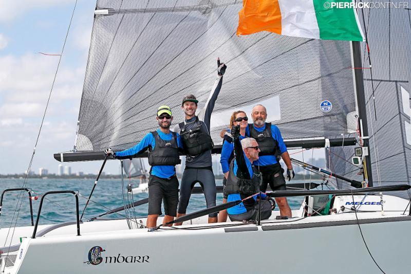 Conor Clarke's Embarr IRL829 with Sturart MacNay helming -- Melges 24 World Champions - photo (c) Pierrick Contin - pierrickcontin.fr