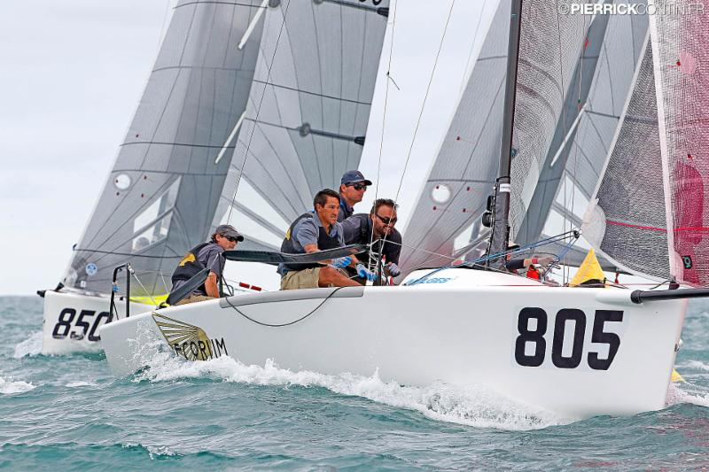 Megan Ratliff's Decorum USA805 - 2016 Melges 24 World Championship - Miami - Day 4 - photo (c) Pierrick Contin