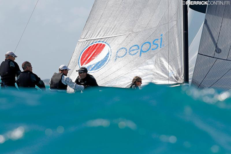 Tõnu Tõniste's Lenny EST790 - 2016 Melges 24 World Championship - Miami - Day 1 - photo (c) Pierrick Contin
