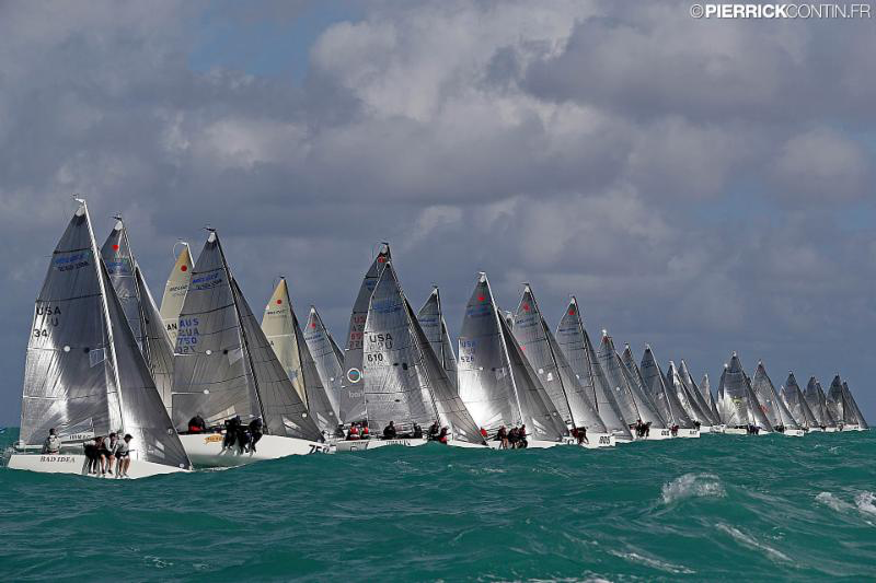 2016 Melges 24 World Championship - Miami - Day 1 - photo (c) Pierrick Contin