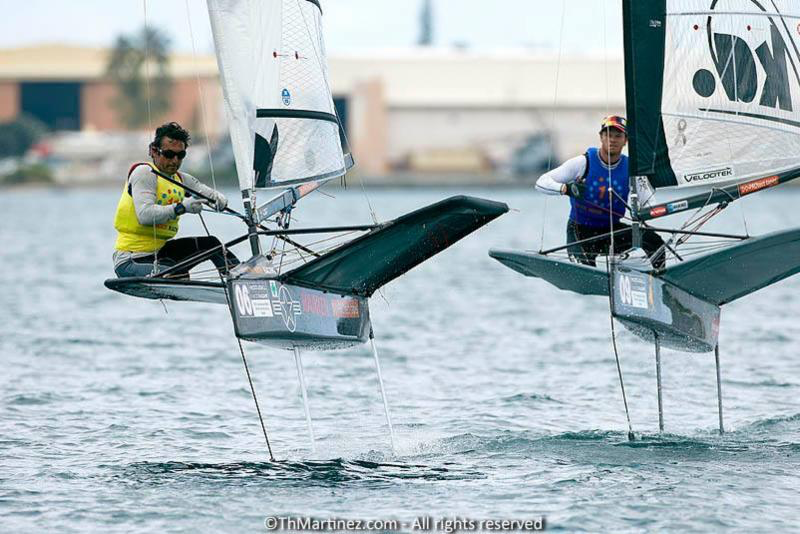 Bora Gulari winning for the second time Moth Worlds in 2013 - photo (c)ThMartinez.com