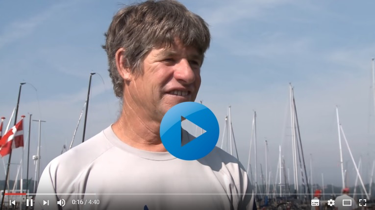 Jonathan McKee - Tactician in Bora Gulari's team    - Interview at the Melges 24 Worlds 2015 about upcoming 2016 Miami Worlds - video edited by Zerogradinord and Simona Bellobuono