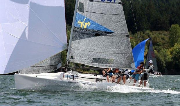 MudRatz Melges 24 team sailing - photo by MudRatz