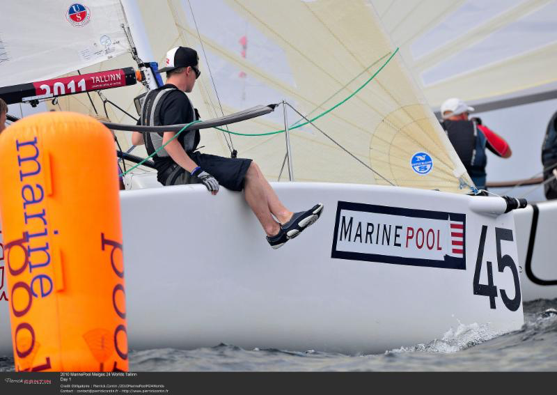 Racing at the 2010 Melges 24 Marinepool World Championship in Tallinn, Estonia - photo Pierrick Contin