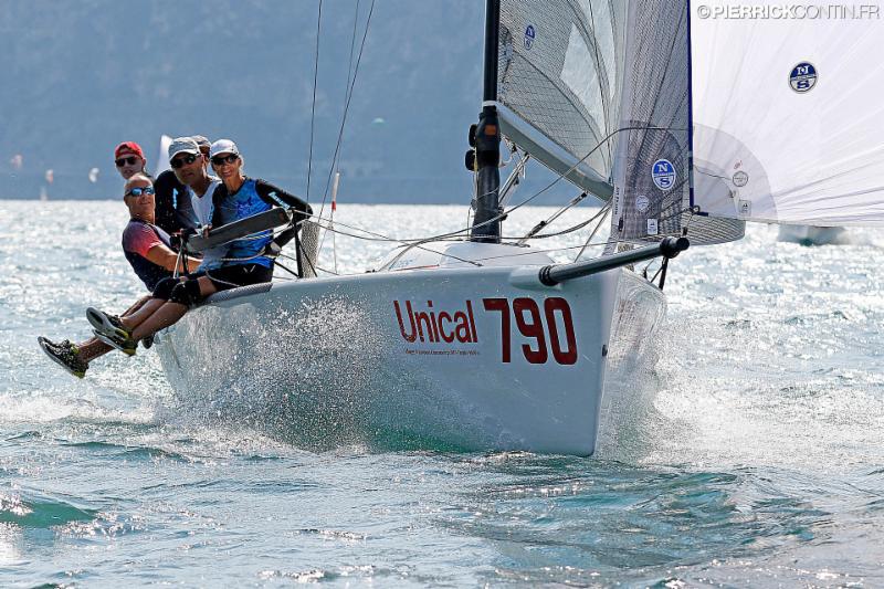 Current leader of the 2019 Melges 24 European Sailing Series - Lenny EST790 of Tõnu Tõniste.  Photo (c) Pierrick Contin