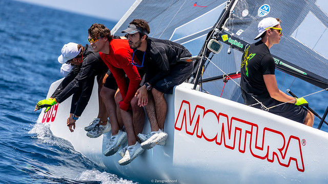 The second place in Corinthian division is occupied by Arkanoe by Montura (10-9-7), seventh overall. Photo @IM24CA/Zerogradinord
