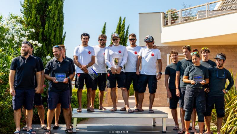 2019 Melges 24 European Sailing Series 4th event in Scarlino - Corinthian podium sees the triumph of Marco Zammarchi's multi-champions aboard Taki 4, followed on the podium by the Hungarian Seven-Five-Nine of Akos Csolto and Arkanoe by Montura by Sergio Caramel. Photo @ IM24CA/Zerogradinord