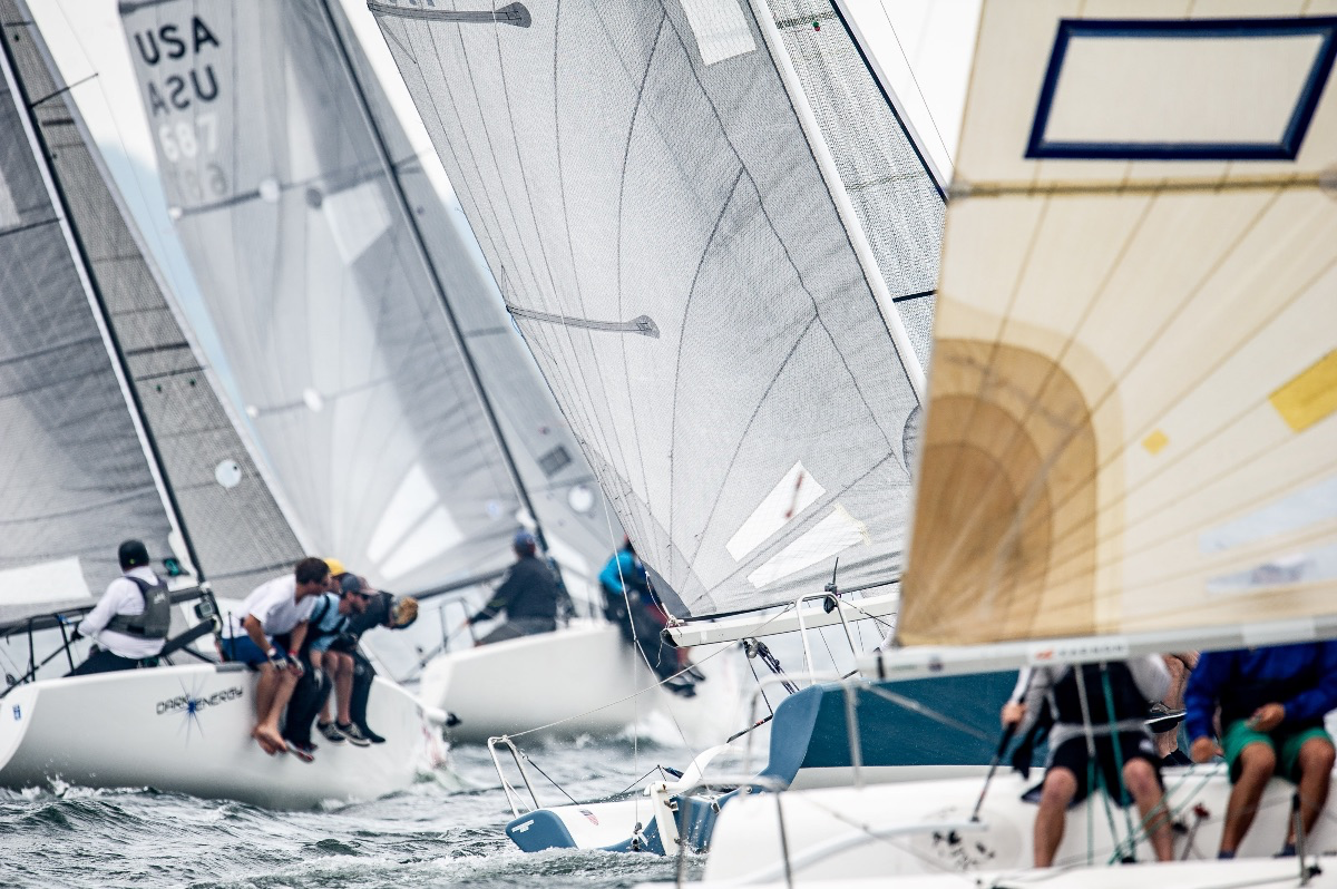 """Come to Pensacola November 15-17 for a fun, competitive regatta in our fantastic venue. Pensacola Bay is perfect for Melges 24 sailing. Information and registration are at the    First Annual Atlantic and Gulf Coast Championship for the """"Bushwhacker Cup""""     ©Paul Todd/OUTSIDEIMAGES.COM"""