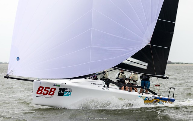 Travis Weisleder's  Lucky Dog/Gill Race Team  is holding second position in the 2019 U.S. National Ranking Series - photo ©CRW/Zerogradinord - 2019 Sperry Charleston Race Week