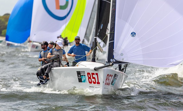 Bruce Ayres'  Monsoon  is completing the provisional podium of the 2019 U.S. National Ranking Series - photo ©CRW/Zerogradinord - 2019 Sperry Charleston Race Week