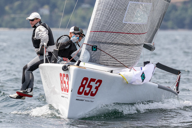 Competing at the approaching Melges 24 North American Championship, Richard Reid's  Zingara CAN853 , with Quantum Sails' expert Scott Nixon onboard, is fully equipped with Quantum sails - photo ©IM24CA/Zerogradinord