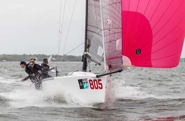 Megan Ratliff's Quantum equipped  Decorum USA805  was the Corinthian division' winner at the Sperry Charleston Race Week 2019 - photo ©IM24CA/Zerogradinord