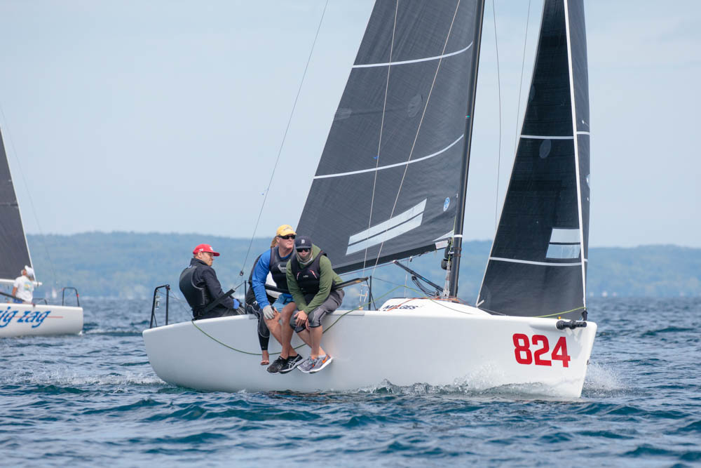 Jack Jennings returned the Melges 24 Class in primo form on his famed  Pied Piper . - © Bill Crawford - Harbor Pictures Company