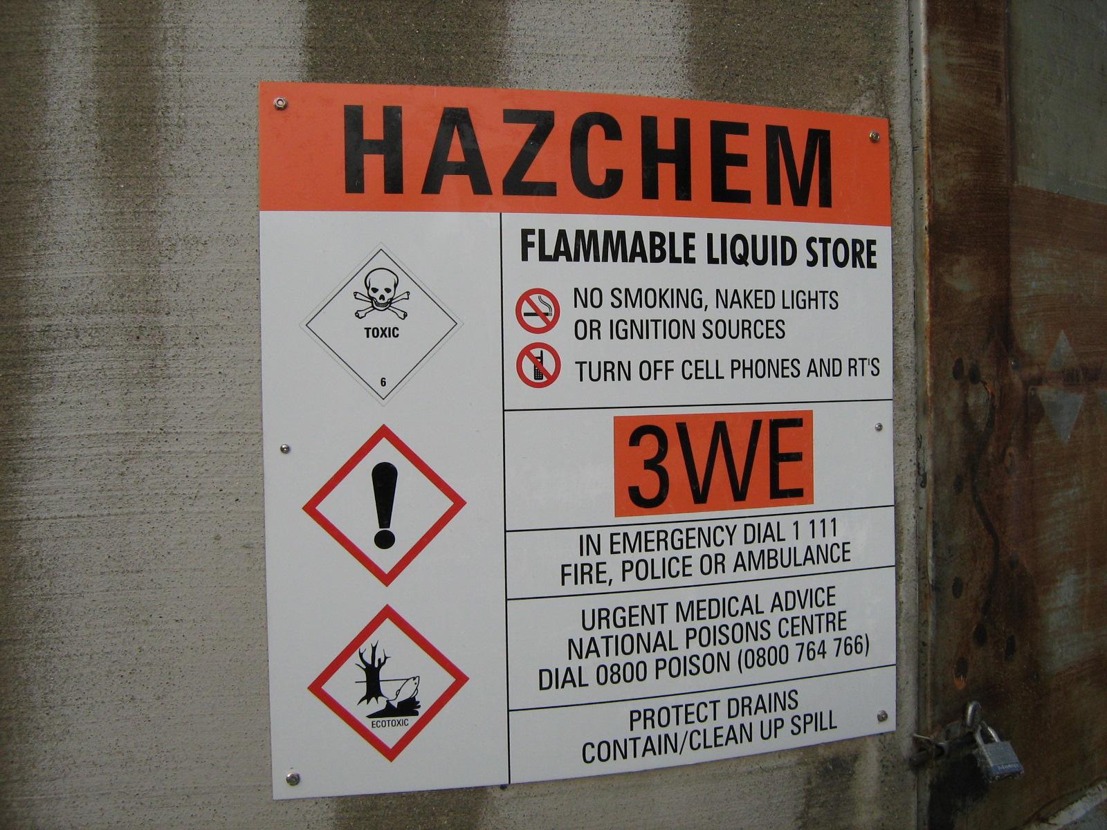 HSNO Flammable Liquids sign .jpg
