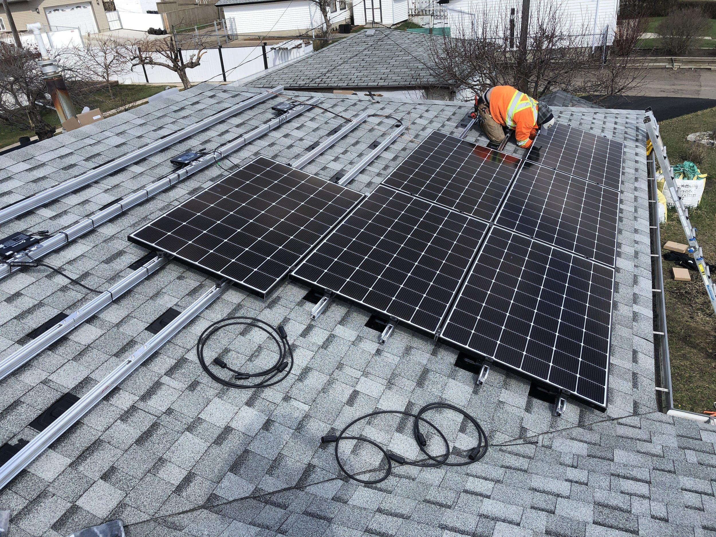Solar Installation - From permits, engineering and commissioning, to every bit of paperwork - we are trained, qualified and certified to take care of that for you!