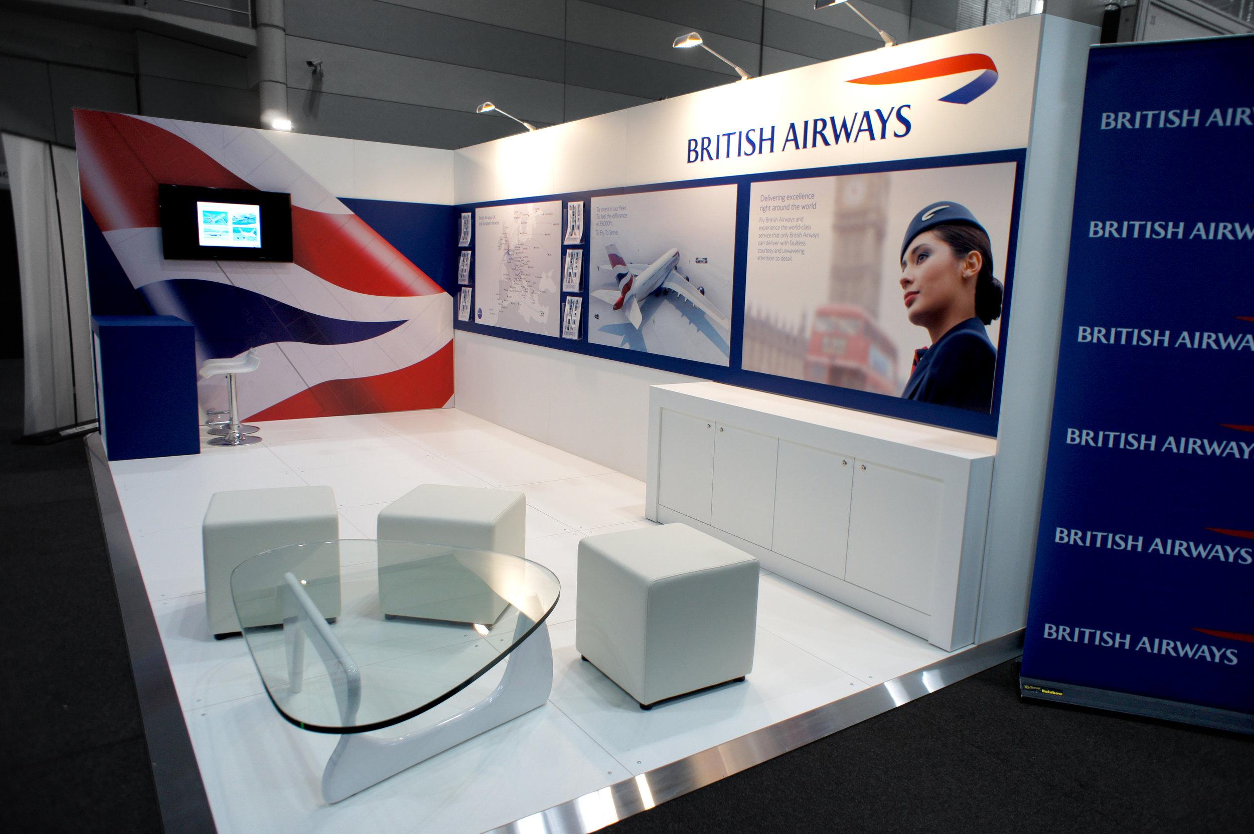 British Airways at Europe Travel Show
