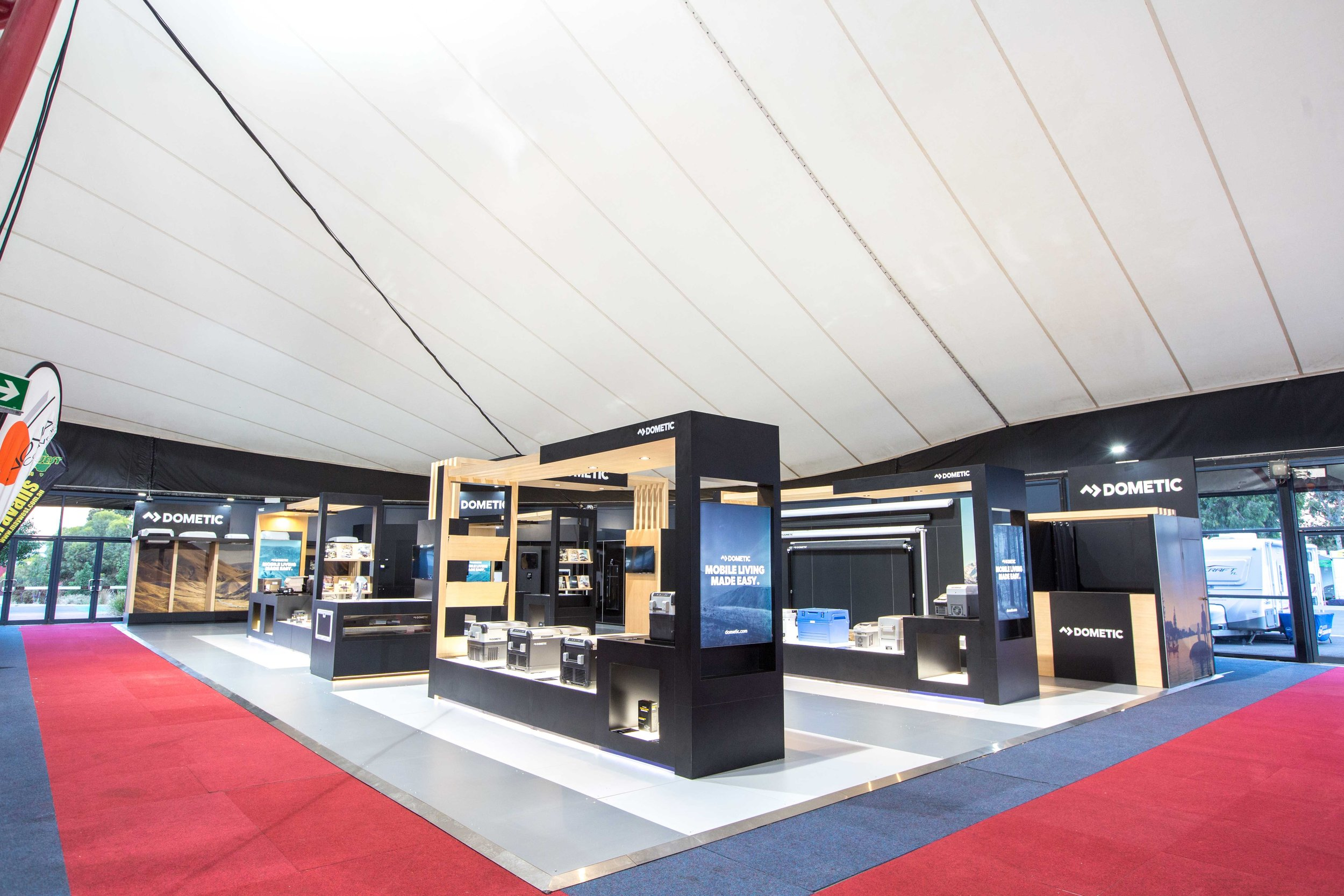 Dometic at The Camping and Caravan Show 2018