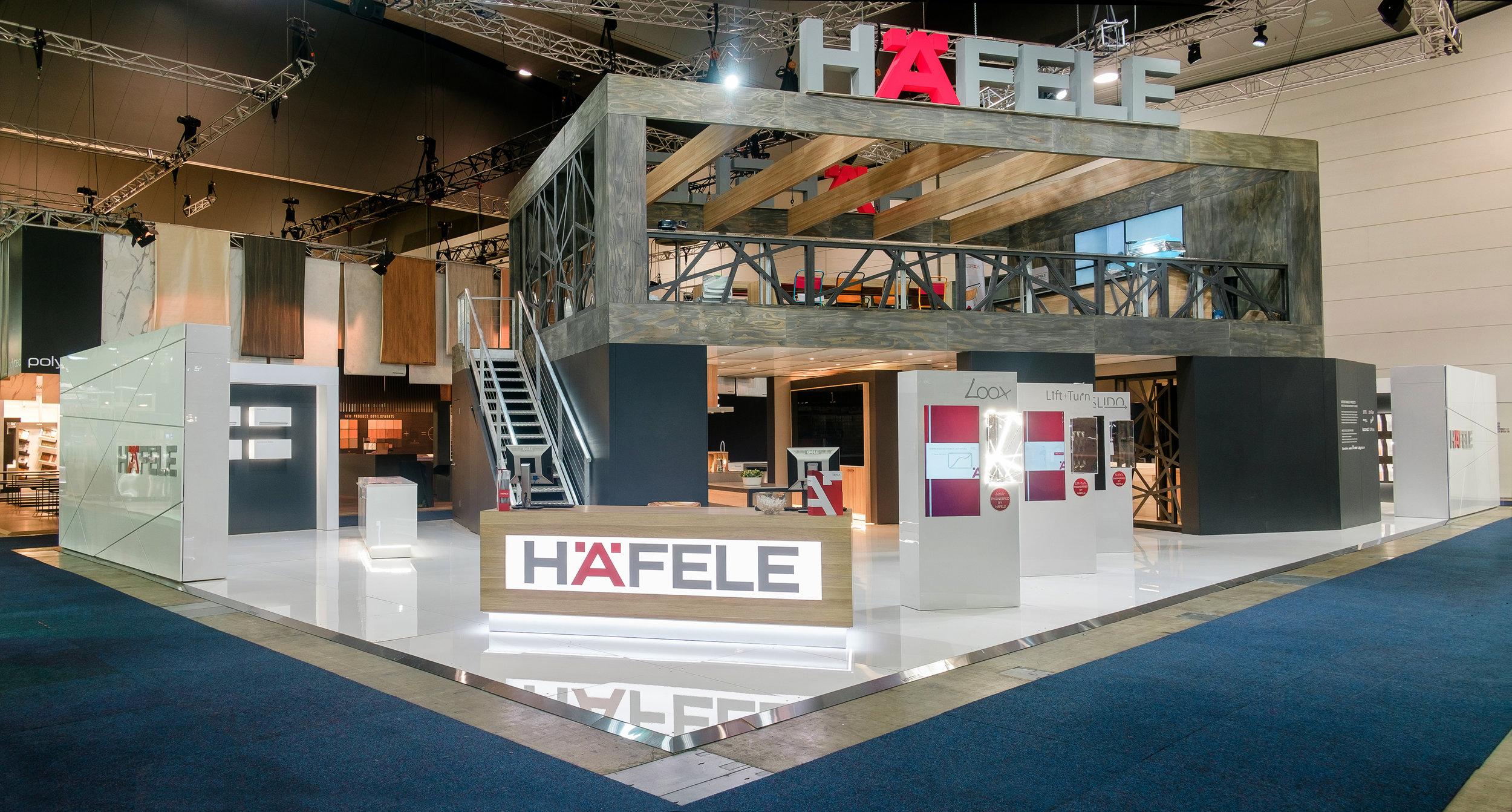 Hafele Exhibition Stand