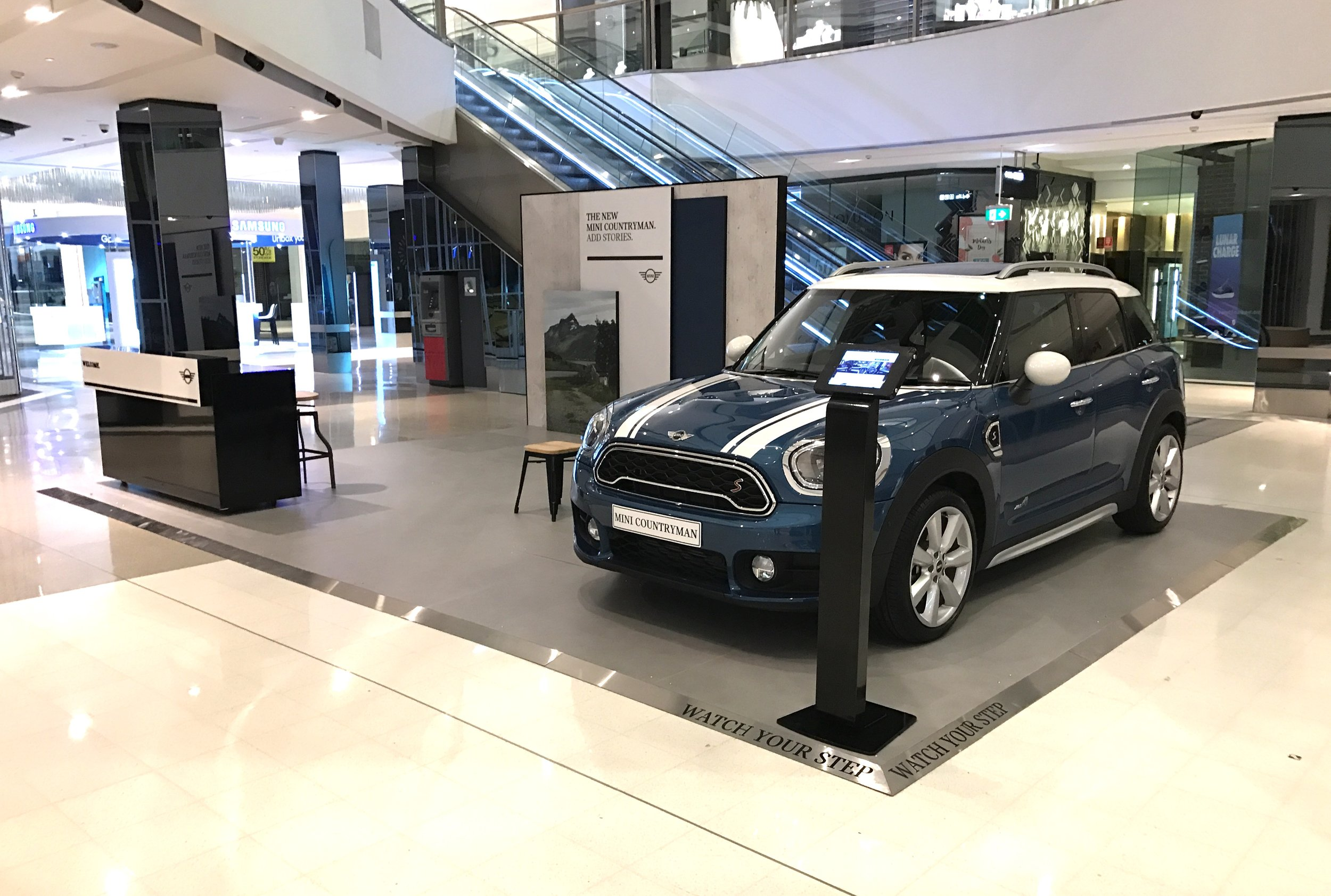 Mini RS at Chadstone Shopping Centre