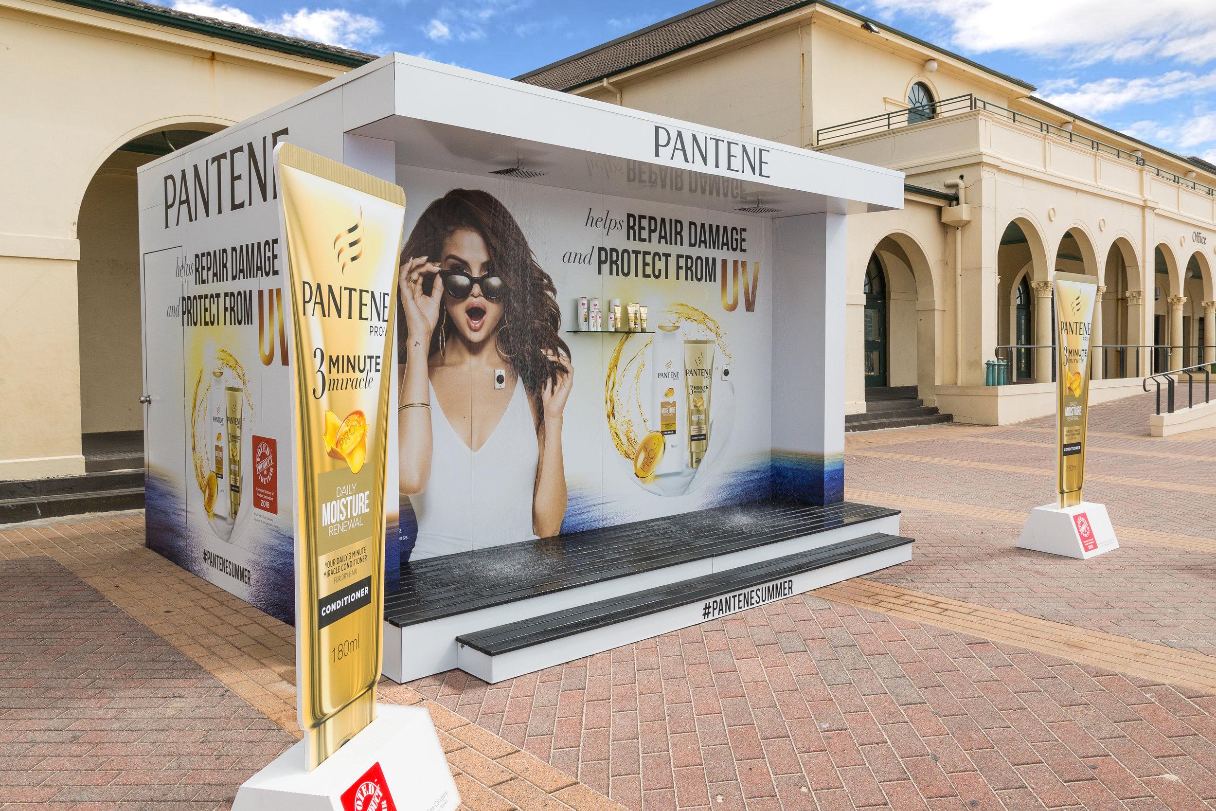 Pantene Shower at Bondi Beach, 2017
