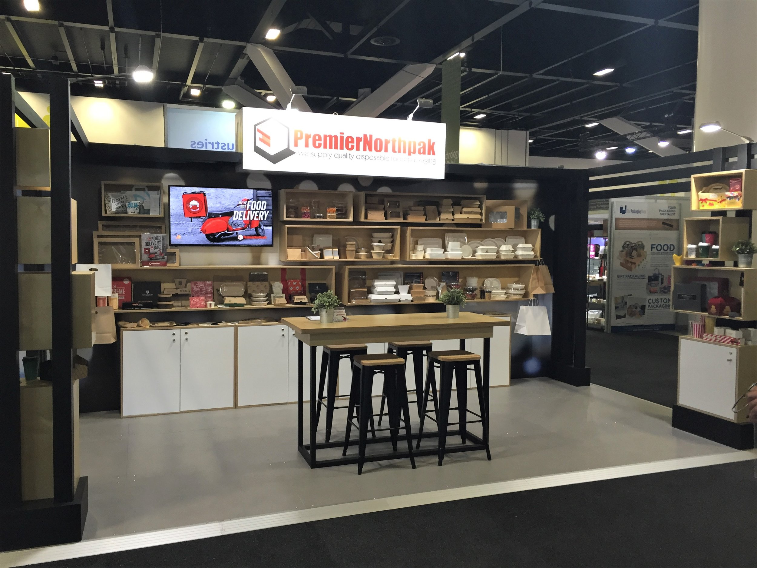 Premier Northpak at the Fine Food Show, 2017