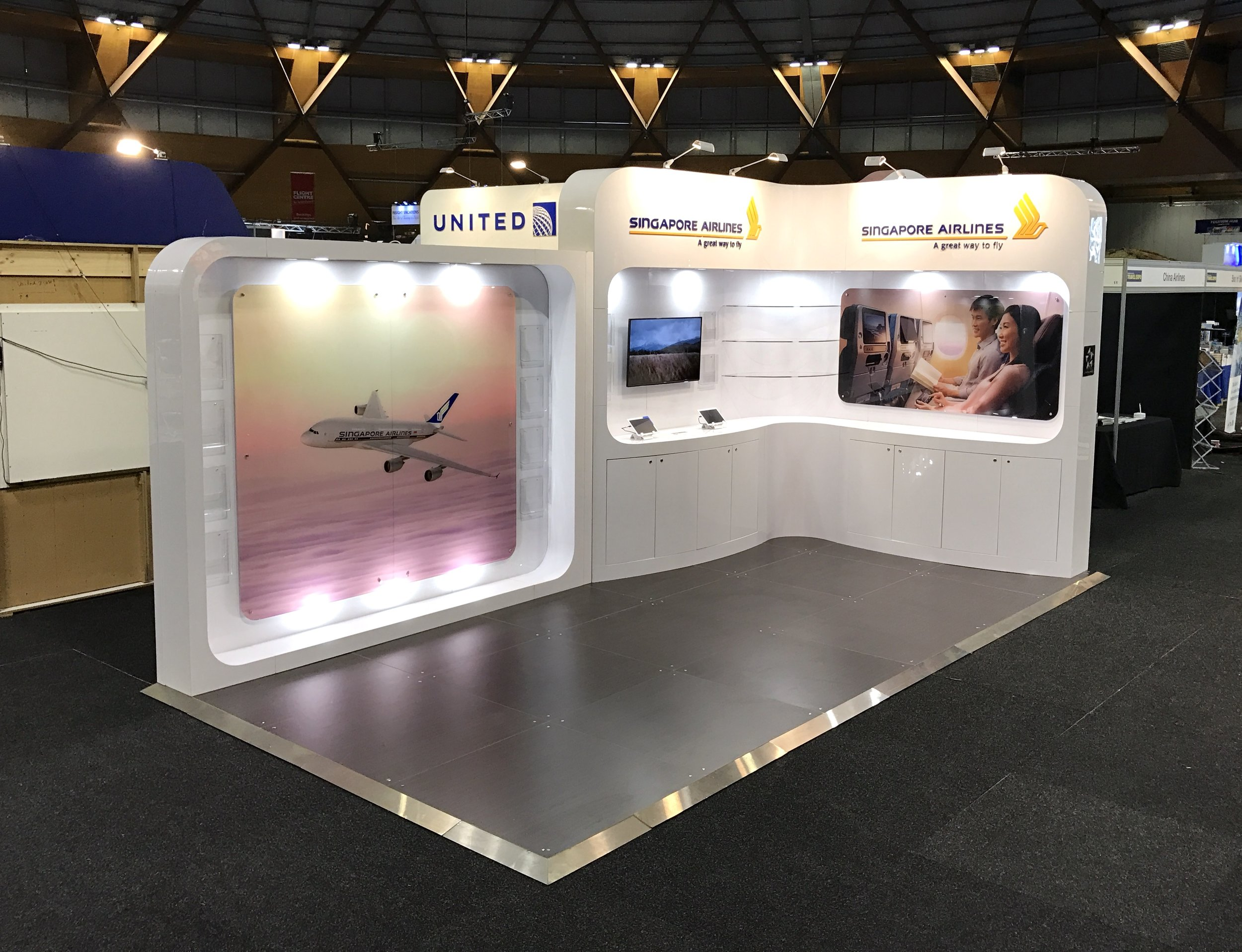 Singapore Airlines at the Government Travel Expo