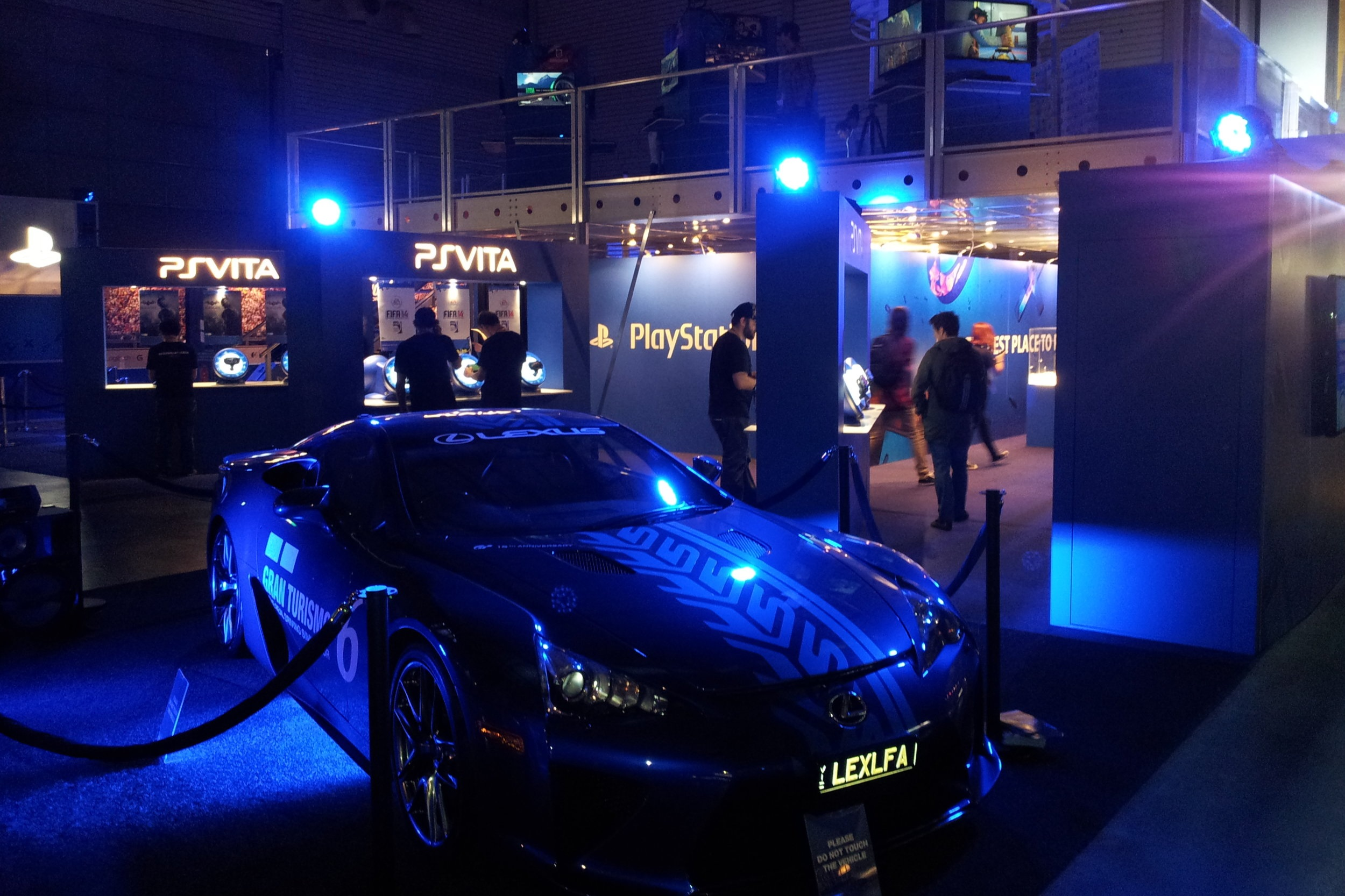 Sony PS4 Launch at EB Games