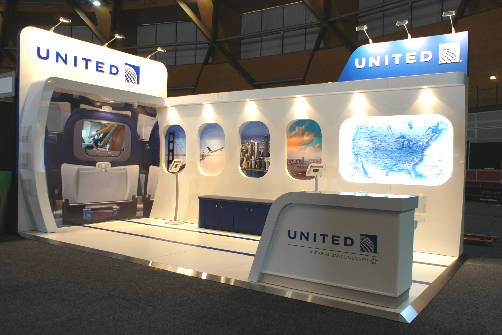 United Airlines at The Travel Expo
