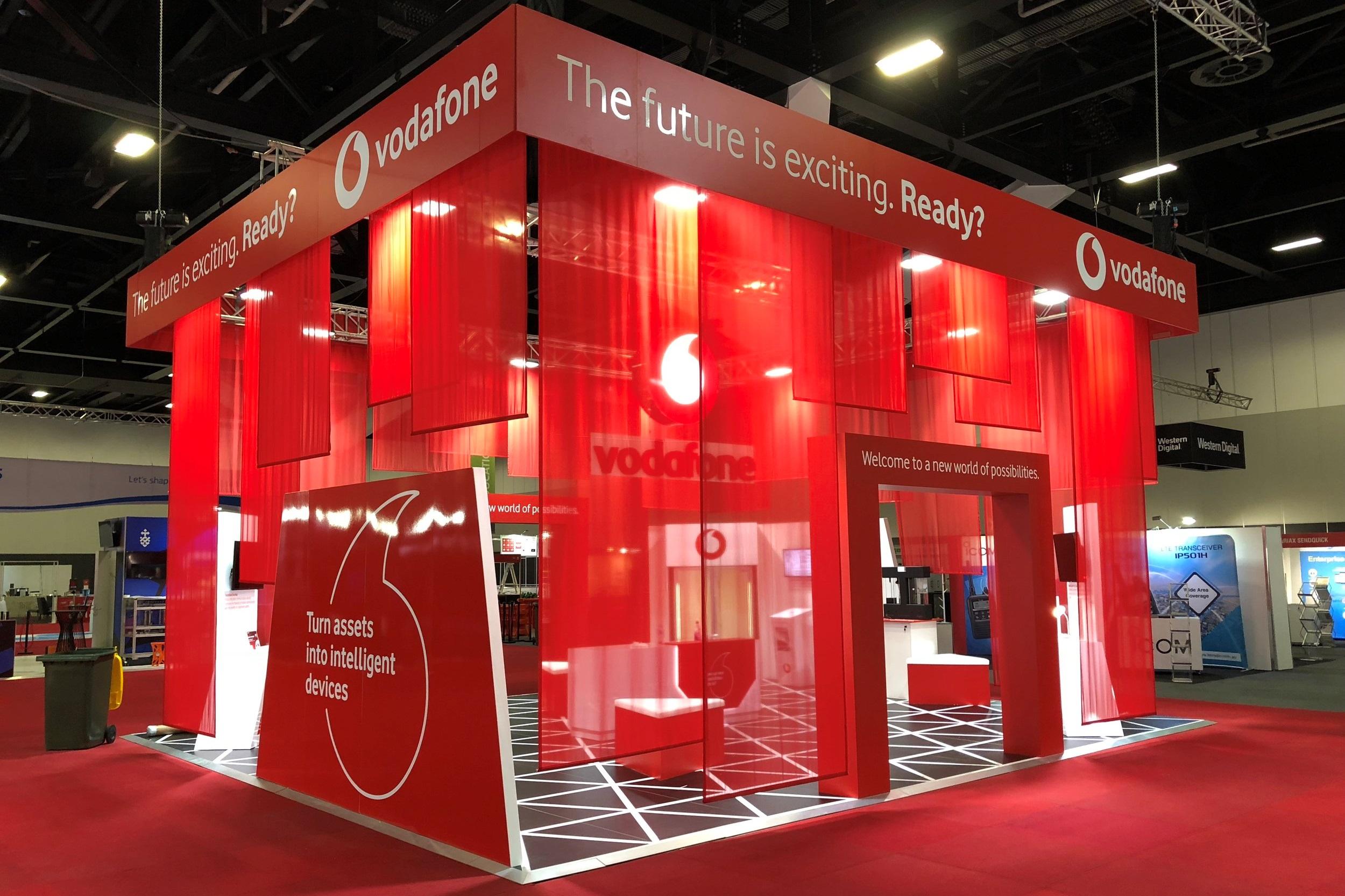 Vodafone at CEBIT, 2018