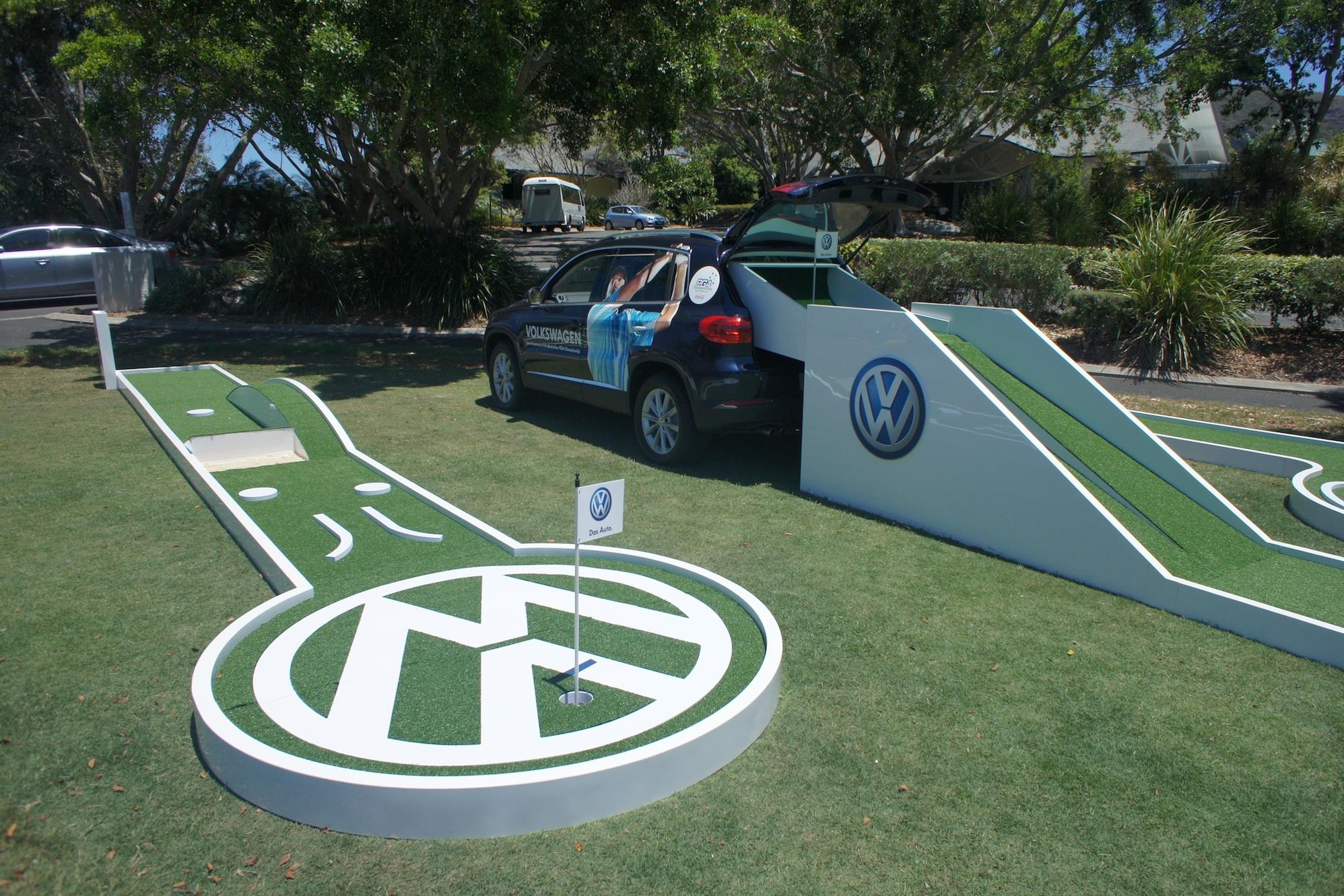 Volkswagen Golf Event at Coolum Golf Course