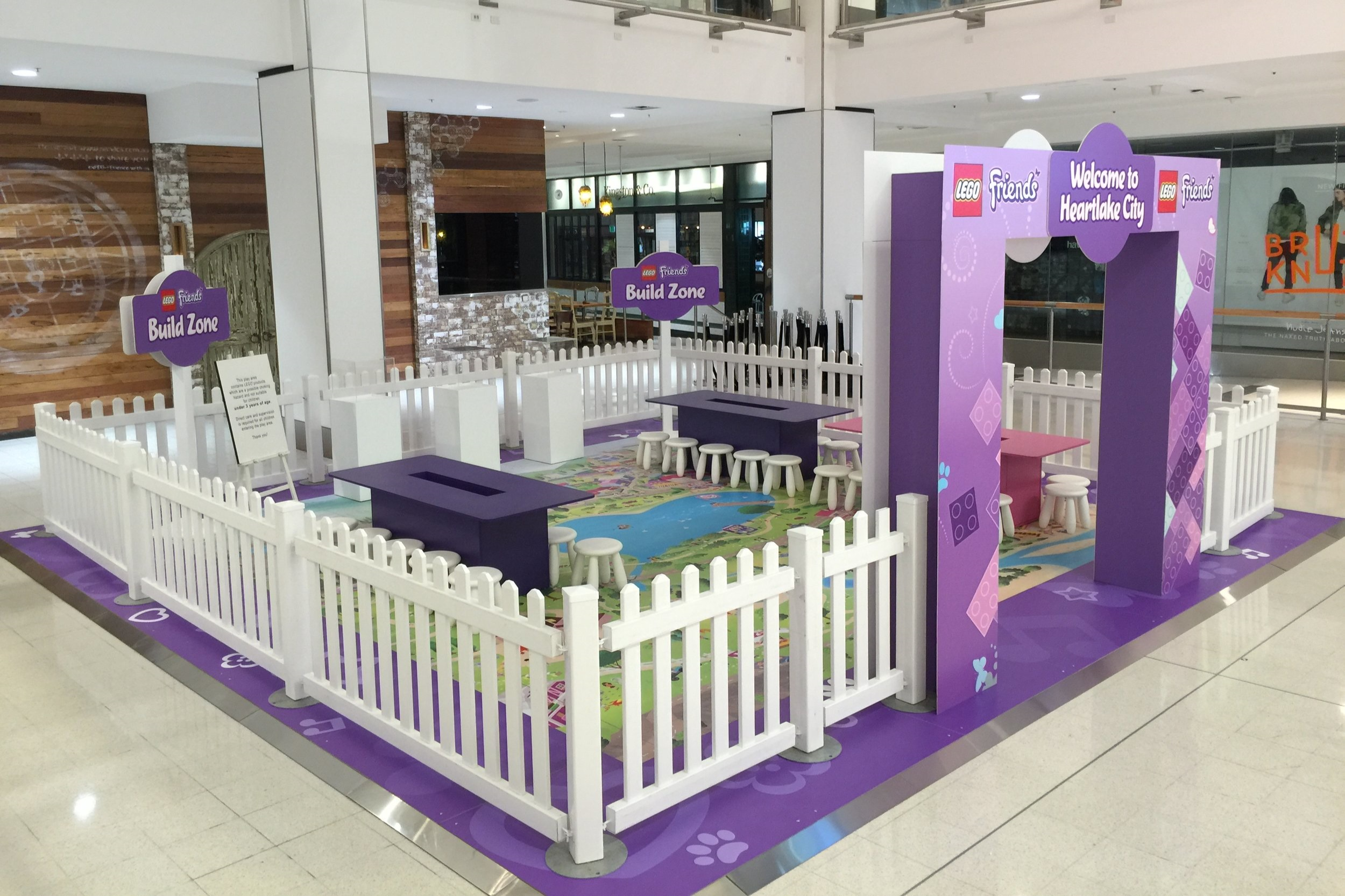 Lego and Friends at Westfield Chatswood, 2016