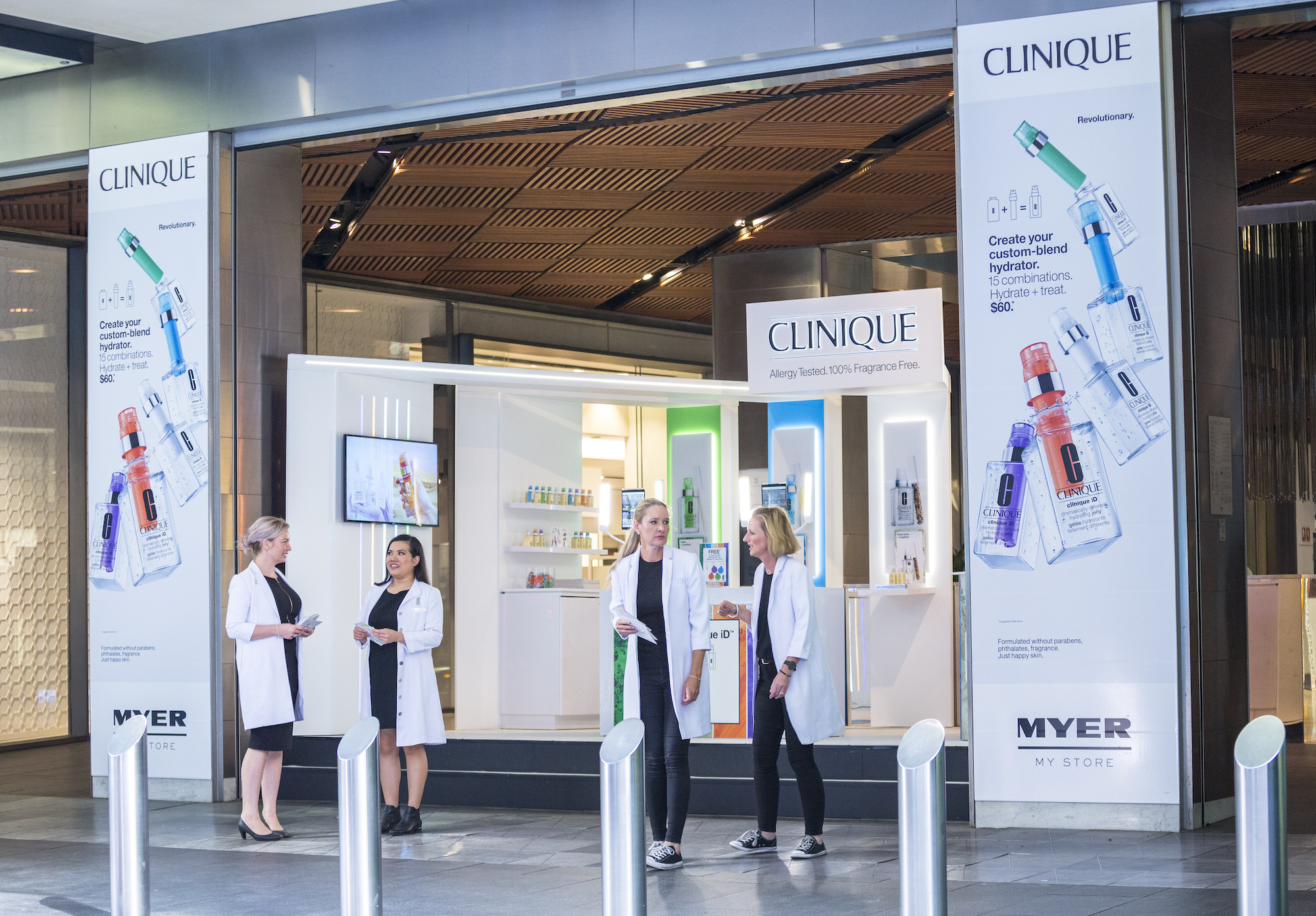 Clinique at Westfield Sydney, 2019