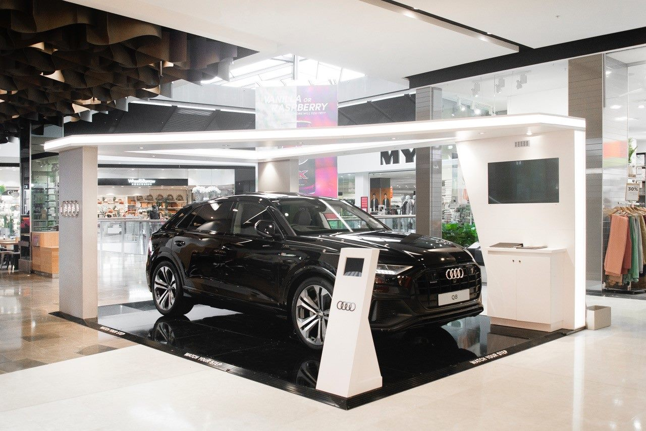 Audi Q8 Launch Display at Fountain Gate, Melbourne, 2019