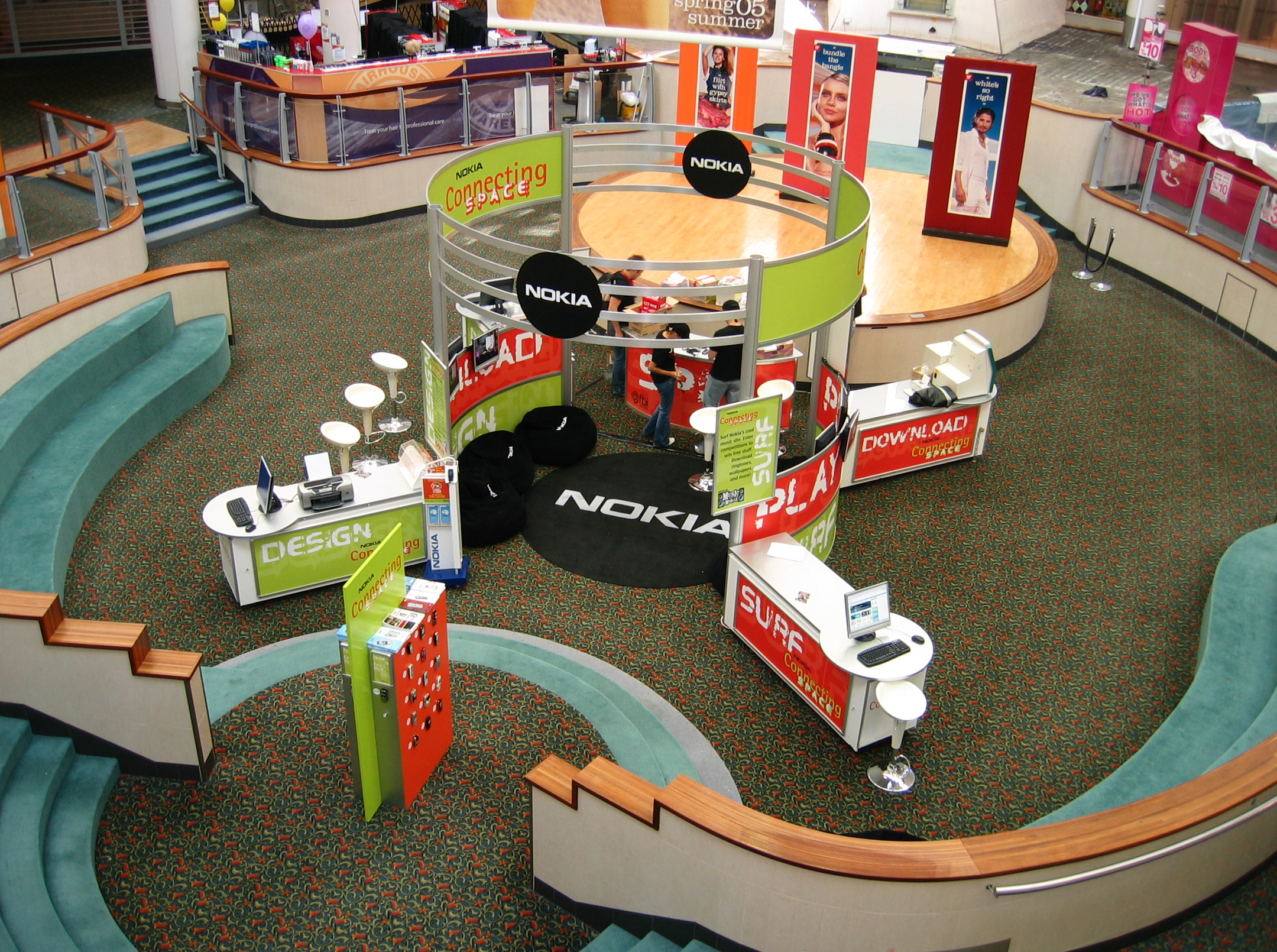 Nokia activation at Westfield Carindale