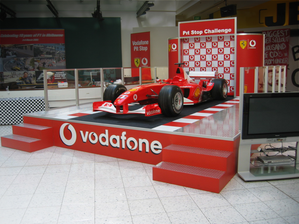 Vodafone Pitt Stop Challenge, Melbourne