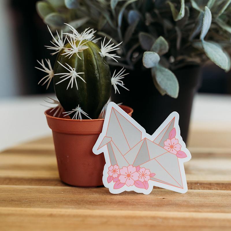 Paper Crane Sticker.jpg