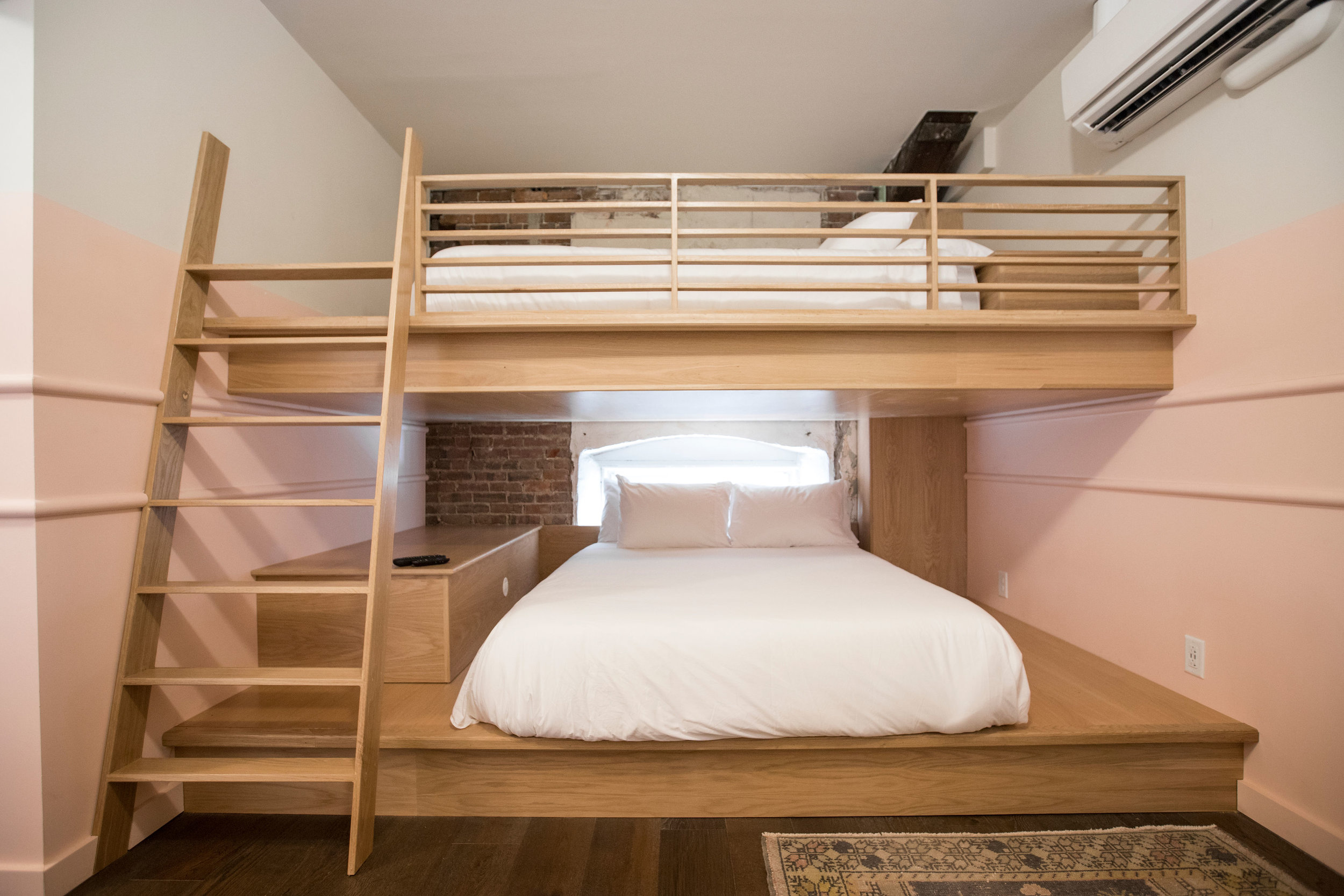 QUEEN BUNK  LEARN MORE & MAKE A RESERVATION